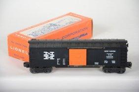 Scarce Boxed Lionel 6464-725 Black Nh Boxcar