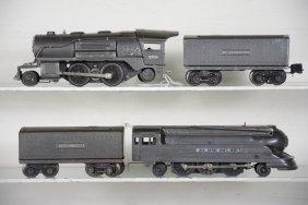 Lionel 1668e & 258 Steam Locomotives
