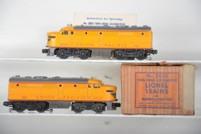 Clean Boxed Lionel 2023 Up Alcos