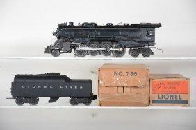 Boxed Lionel 736 Berkshire Steam Loco