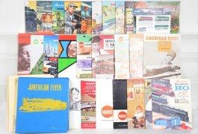 Clean American Flyer Catalogs