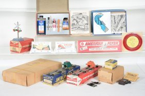 Boxed American Flyer Accessories