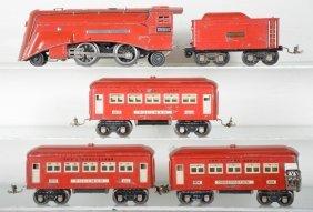 1935 Lionel Red Comet Set