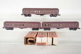 Boxed Lionel Madison Cars