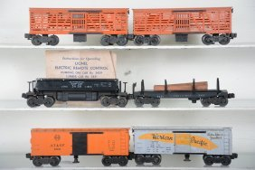 Lionel Operating Cars, 2 Boxed