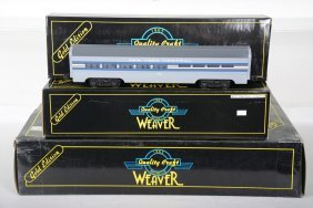 Weaver Nyc Painted Passenger Cars