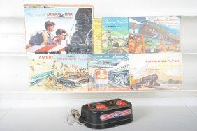 American Flyer 22090 & Catalog Lot