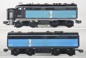 Lionel 217 B&m Alco Ab Diesels
