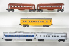 Assorted Lionel Postwar Passenger Cars