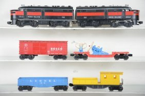 Lionel 2041 Ri Diesel Freight Set