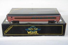 Weaver Prr Aluminum Passenger Cars