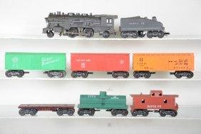 Marx Steam Freight Set With Sound