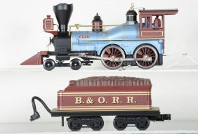 Mth B&o American Locomotive, Proto 2.0