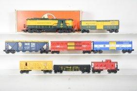 Lionel Diesel Freight Set, Custom Loco