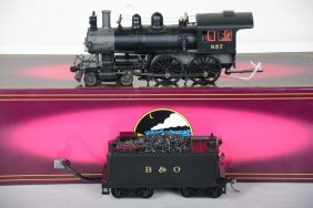Mth 20-3155-1 B&o Steam Loco 2-rail Conversion