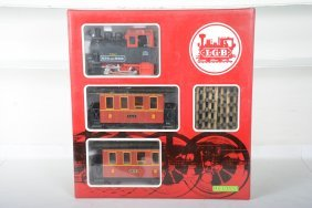 Lgb Bps&d Steam Passenger Set