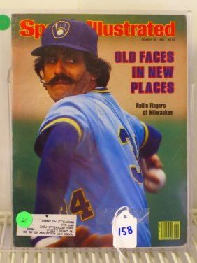 Rollie Fingers Sports Illustrated 1981