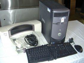 Dell Computer W/ HP Deskjet 895CSE