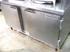 "Beverage Air WTR60 2dr. 60"" S/S Work Top Cooler"
