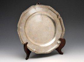 George III Silver Plate.