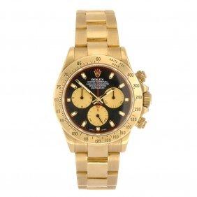 (528247-4-A) An 18k Gold Automatic Gentleman's Rolex Da