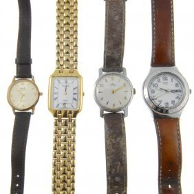 A Mixed Bag Of Watches. Approximately 60.