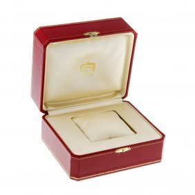 Cartier - A Watch Box.