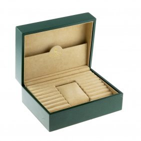Rolex - An Incomplete Watch Box.