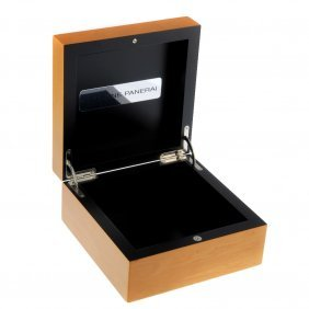 Panerai - A Pair Of Complete Watch Boxes.
