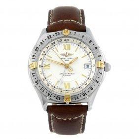 Breitling - A Gentleman's Windrider Antares World Wrist