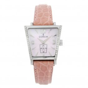 Corum - A Lady's Trapeze Wrist Watch. Stainless Steel