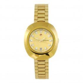 Rado - A Lady's Diastar Bracelet Watch. Gold Plated
