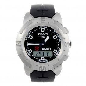 Tissot - A Gentleman's T-touch Wrist Watch. Stainless