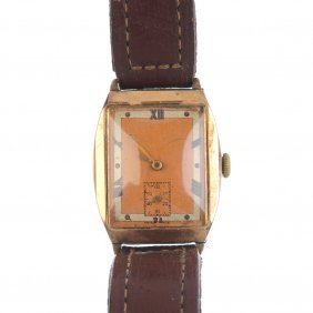 Two Early And Mid 20th Century 9ct Gold Manual Wind