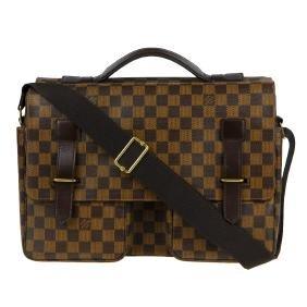 Louis Vuitton - A Damier Broadway Messenger Bag.