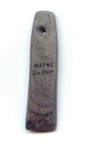 "2 3/4"" Miniature Pendant.  Wayne Co, OH."