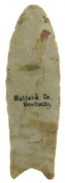 "4 13/16"" Clovis. Ballard Co, Ky. Perino Coa. Ex-red"