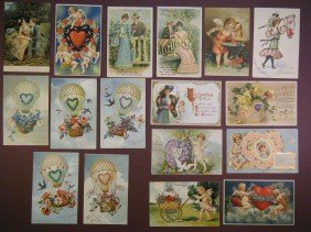 (Lot Of 40 Vintage (late Victorian) PCs And Other V