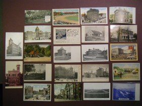 (Miscellany From 5 PA Counties) 48 Vintage PCs From