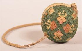 Yarn Work Strawberry And Heart Pin Cushion.