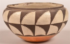 Vintage Acoma Indian Pottery Bowl.
