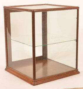 Vintage Country Store Counter Top Display Case.