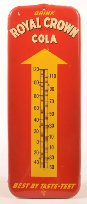"""royal Crown Cola"" Advertising Thermometer."