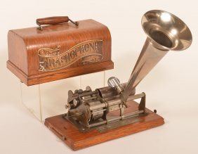 Graphophone By Columbia Phonograph Co. Model-b-eagle-#