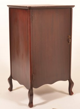 Mahogany Record/sheet Music Cabinet