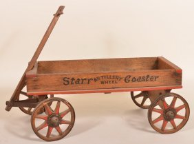 Wooden Pull Wagon