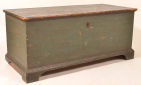 Pennsylvania Federal Softwood Blanket Chest .
