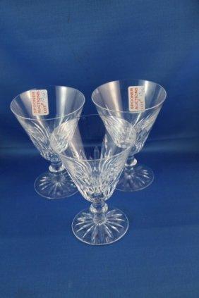 TWELVE LARGE WATERFORD WATER GLASSES