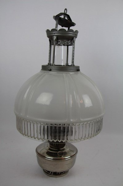 Aladdin Hanging Lamp Model 12 Four Post With 616 Shade