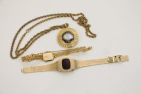 Vintage Swiss Borel+ Seiko & Italian Digital Watch